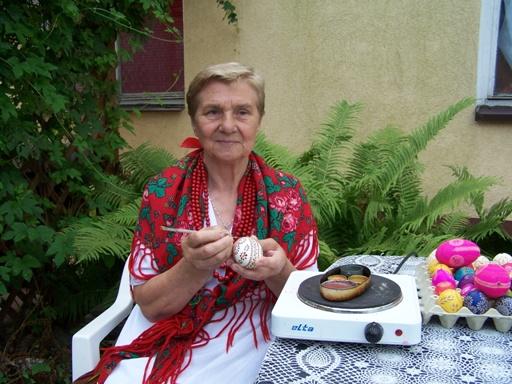 Twórczyni Krystyna Cieśluk, 2009. Fot. M. Pokropek