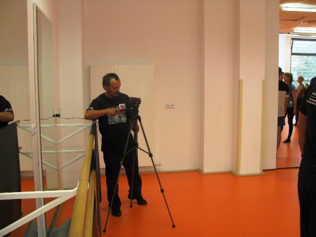 …oraz Kuczek, tancerz grupy Patroni, koordynator projektu, dokumentalista i miłośnik wszystkiego co ZPiT.
