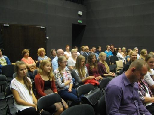 Publiczność wykładu.