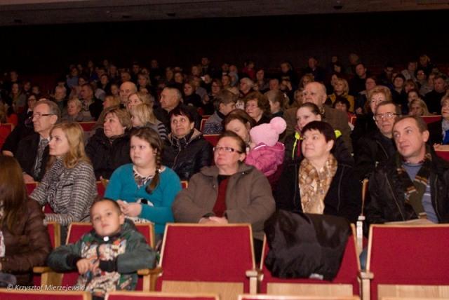 Nasza wierna publiczność — mieszkańcy ziemi trockiej.
