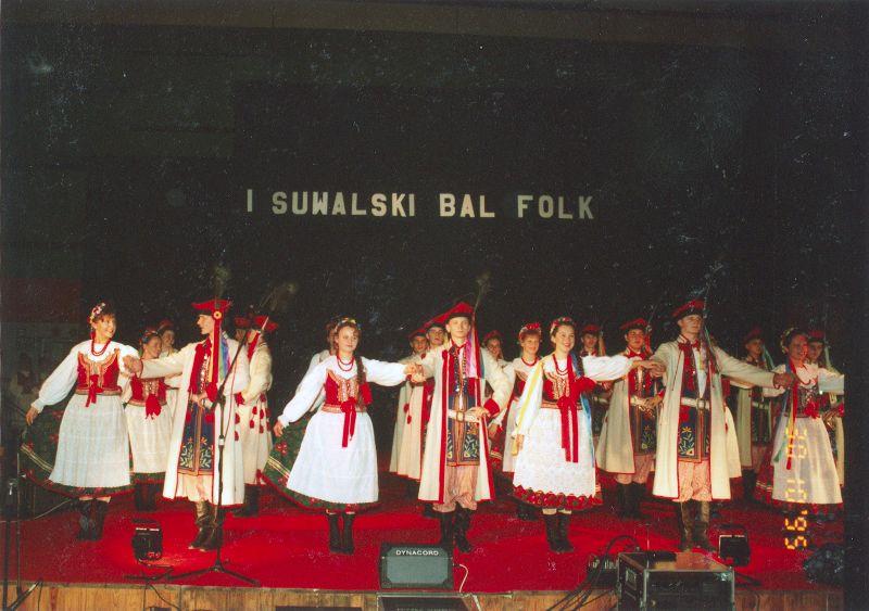 Pierwszy suwalskkii folkbal. To zaledwie początek wspomnień, kropla w oceanie archiwów Zespołu.