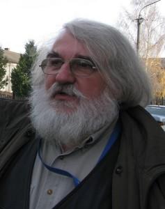 Mirek Nalaskowski w czasie wyjazdy z ZPiT Suwalszczyzna do środowiska polskich na Ukrainę, 2012 r.