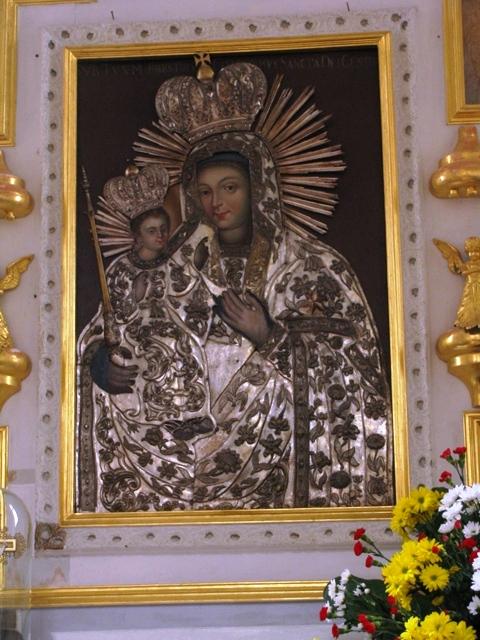 Cudowny obraz Matki Bożej Nowogródzkiej, tej, co Panno Święta, co… gród zamkowy ochrania z jego wiernym ludem…