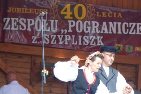 """40-lecie zespołu """"Pogranicze"""" z Szypliszk"""